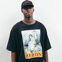 Heron Preston Fashion Casual Print Shirt Top Tee