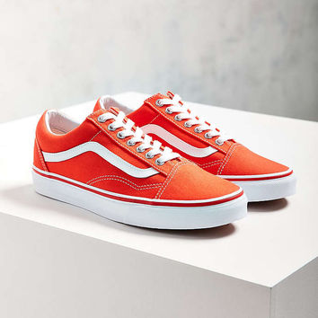 Vans Orange Old Skool Sneaker - Urban from Urban Outfitters 768344295aa6