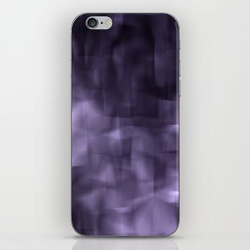 Purple abstract painting. iPhone & iPod Skin by VanessaGF