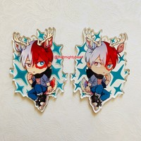 """[PRE-ORDER] BNHA FURRIES 3"""" CHARMS by thatmightyheart"""