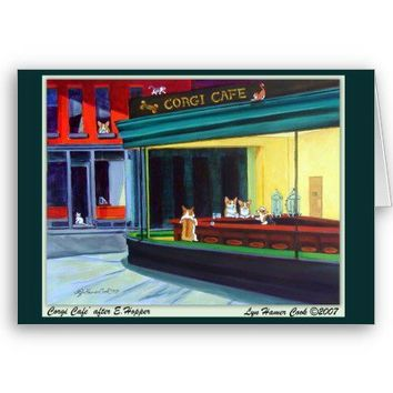 Pembroke Welsh Corgi Greeting Cards from Zazzle.com