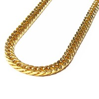 Medium Gold Cuban Necklace