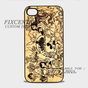 Disney Collage Plastic Cases for iPhone 4,4S, iPhone 5,5S, iPhone 5C, iPhone 6, iPhone 6 Plus, iPod 4, iPod 5, Samsung Galaxy Note 3, Galaxy S3, Galaxy S4, Galaxy S5, Galaxy S6, HTC One (M7), HTC One X, BlackBerry Z10 phone case design