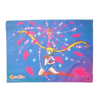 Sailor Moon Spiral Heart Attack Fabric Poster