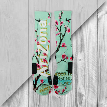 ARIZONA TEA CUSTOM NIKE ELITE SOCKS