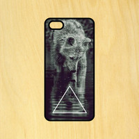 Wolf Reflection Art Phone Case iPhone 4 / 4s / 5 / 5s / 5c /6 / 6s /6+ Apple Samsung Galaxy S3 / S4 / S5 / S6