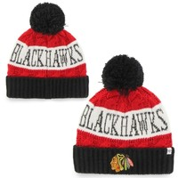 Women's Chicago Blackhawks '47 Brand Red Swanson Cuffed Knit Hat