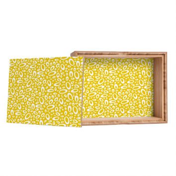 Heather Dutton Molecular Yellow Storage Box