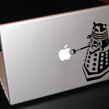 "Dalek Doctor Who 13"" Macbook Apple Laptop Decal"