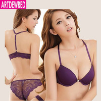 Luxurious Elegance Vs Bra And Panty Set Y-line Underwear Set Female Sexy Lace Brand Push Up Secret Women Bra Set
