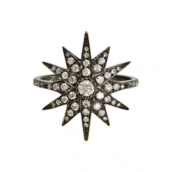 Shay Jewelry - Black Gold Starburst Ring | Just One Eye