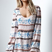 Some Days Lovin Explore More Tie Back Dress - Womens Dress - Multi