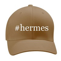 #hermes - A Nice Hashtag Men's Adult Baseball Hat Cap