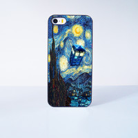 Stary Night Doctor Who Plastic Case Cover for Apple iPhone 5s 5 6 Plus 6 4 4s  5c