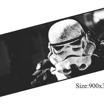 Star Wars Force Episode 1 2 3 4 5 Ziasmul  mouse pad 90x30mm pad to mouse notbook computer mousepad HD print gaming padmouse gamer keyboard mouse mats AT_72_6
