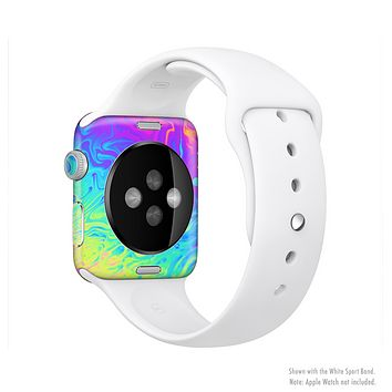 The Neon Color Fushion V2 Full-Body Skin Set for the Apple Watch