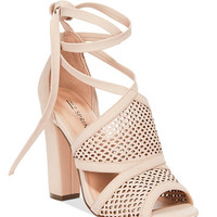 Call It Spring Rounkles Tie-Up Block-Heel Sandals | macys.com