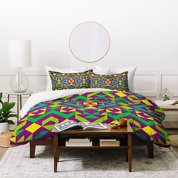 Arcturus Quadrilaterals Duvet Cover