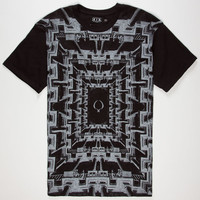 Rook Columns Mens T-Shirt Black  In Sizes