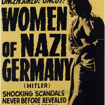 Women of Nazi Germany 11x17 Movie Poster (1962)