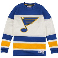 Changing on the Fly Longsleeve St. Louis Blues Mitchell & Ness Nostalgia Co.