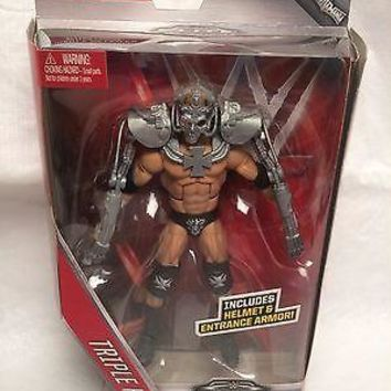 2016 WWE Elite 42 Triple H Armore and Halment Mattel Toy NEW