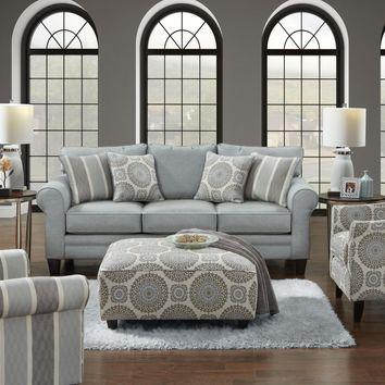 Fusion Grande Mist Loveseat and Chair