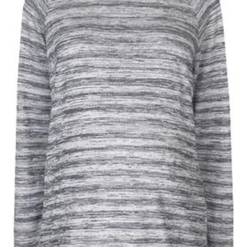 MATERNITY Space Dye Sweatshirt - Grey