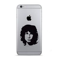 Jim Morrison iPhone 6 Decals - iPhone 6 Plus Stickers - Music Decal - The Doors Stickers - Rock Lover Gift - Galaxy s5 Phone Sticker