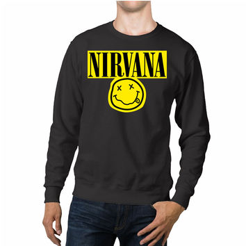 Nirvana Smiley Face Unisex Sweaters - 54R Sweater