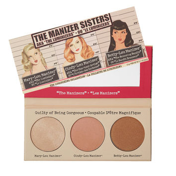 2015 Brand T B Makeup The Sisters power / Marry / Cindy/ Betty Bronzer & Highlighter LOU Shimmer Cosmetics eyeshadow  Palette