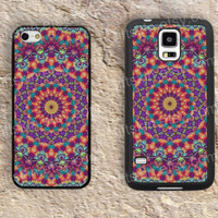 trippy mandala colorful iphone 4 4s iphone  5 5s iphone 5c case samsung galaxy s3 s4 case s5 galaxy note2 note3 case cover skin