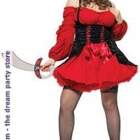 Vixen Pirate Wench Adult Plus Costume