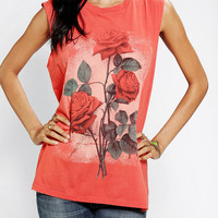 Urban Outfitters - Truly Madly Deeply Bloom Muscle Tee