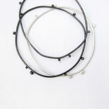 bangles in silver and oxidized silver, hand made one of a kind, stacking bracelet, valentines gift, baladi, custom, delicate and simple