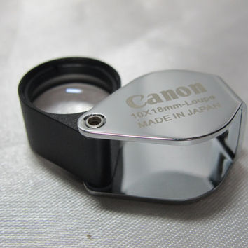 Jewelers Loupe,Canon Full HD,10X18MM,Triplet Lens,Jewelry Gold Magnifier,Amulet loupe,Quality lens,Diamond Magnifier
