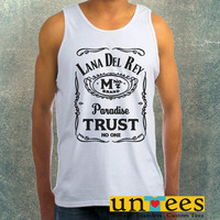 Lana Del Rey Typography Parody Clothing Tank Top For Mens