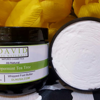 Peppermint + Tea Tree Whipped Foot Butter