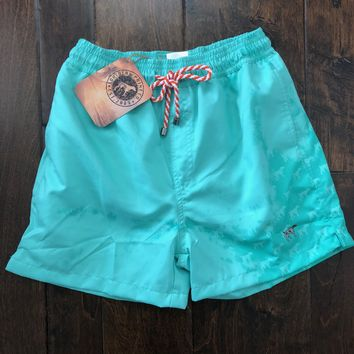 Southern Point - Water Activated Swim Trunks - Seafoam