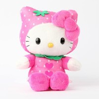 "Hello Kitty 8"" Fruit Plush: Strawberry"