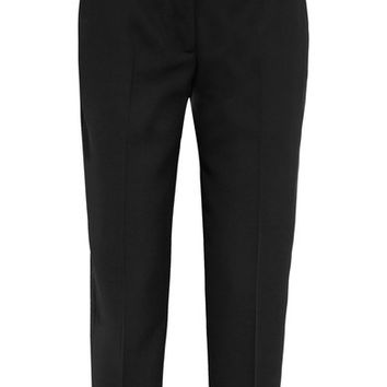 Acne Studios - Cropped wool-twill straight-leg pants