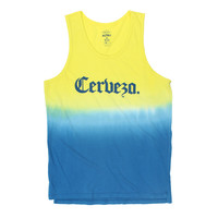 Altru Apparel Cerveza Dip Dyed Tank Top