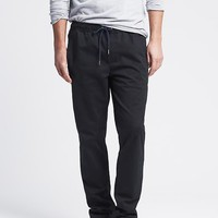 Banana Republic Mens Black Track Pant