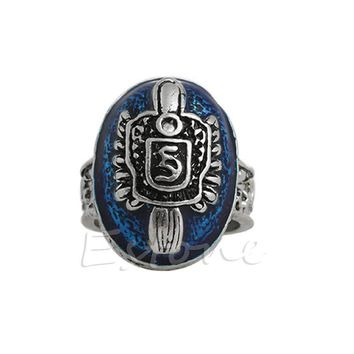 Vintage Style Ring Stefan Salvatore Protection Sun Family Crest - Ships Free