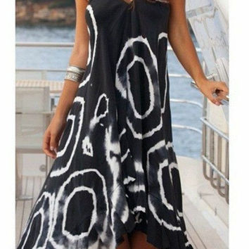 Gentle Winds Maxi Dress