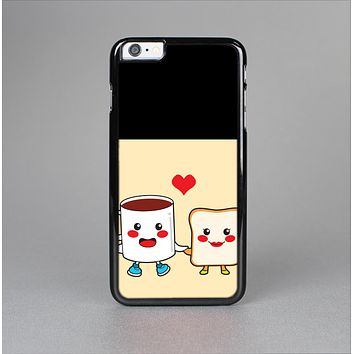 The Cute Toast & Mug Breakfast Couple Skin-Sert Case for the Apple iPhone 6