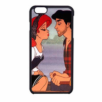 Ariel And Eric Kissing Design iPhone 6 Case
