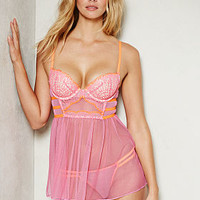 Temptation Crochet Babydoll - Dream Angels - Victoria's Secret
