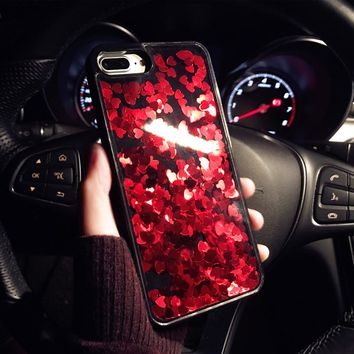 Heart Glitter Phone Case - shopdevi