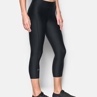 Women's UA HeatGear® Armour Capri | Under Armour US